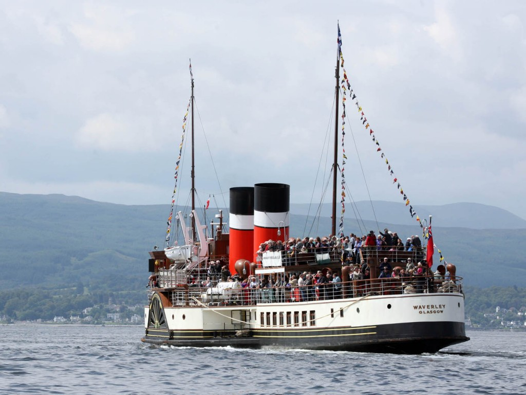 Waverley paddle steamer