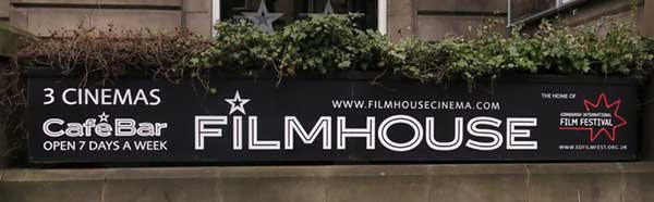 filmhouse sign