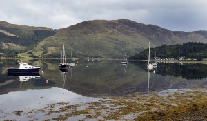Harbour reflections II